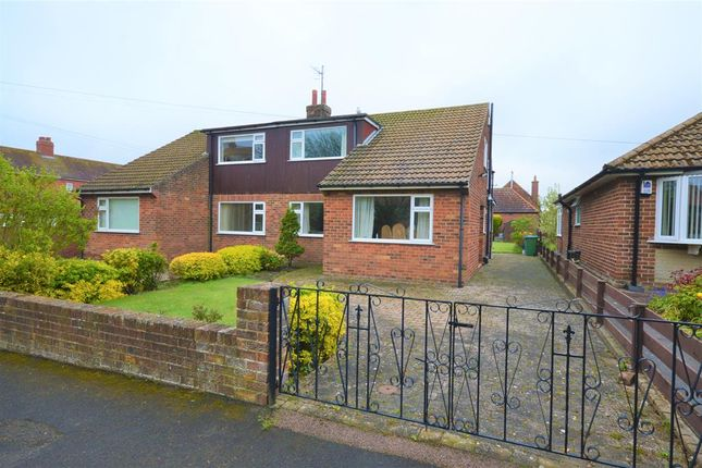 Thumbnail Semi-detached house for sale in Clarence Avenue, Filey
