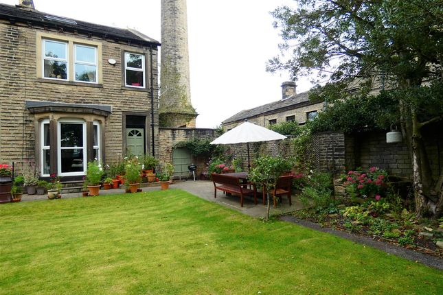 Thumbnail Semi-detached house for sale in Knowl Road, Golcar, Huddersfield