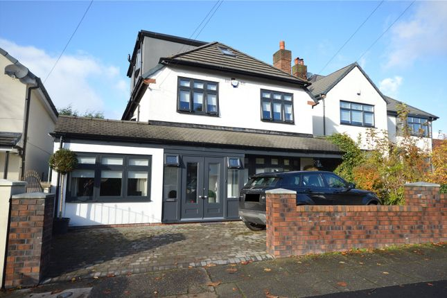 Thumbnail Detached house for sale in Druidsville Road, Calderstones, Liverpool