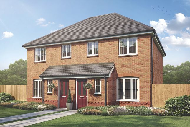 Thumbnail Semi-detached house for sale in Off Lowfield Lane, St Helens