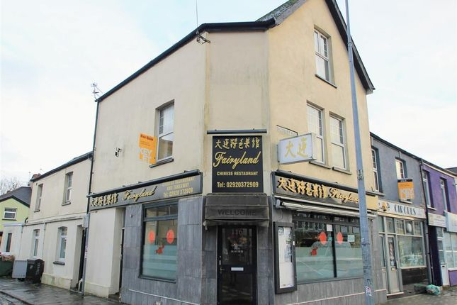 Thumbnail Maisonette for sale in Salisbury Road, Cathays, Cardiff