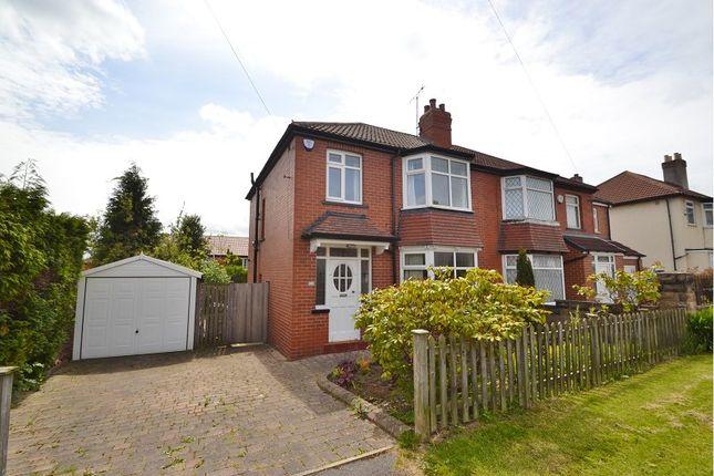 Thumbnail Semi-detached house to rent in Dominion Avenue, Chapel Allerton, Leeds