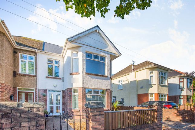 Thumbnail Semi-detached house for sale in Manor Way, Heath, Cardiff