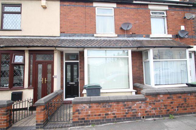 Thumbnail Terraced house to rent in Louise Street, Burslem, Stoke-On-Trent