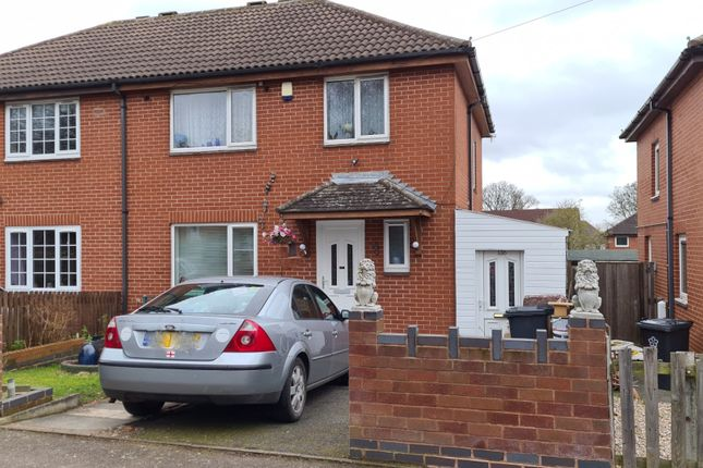 Thumbnail Semi-detached house for sale in The Fairway, Leicester