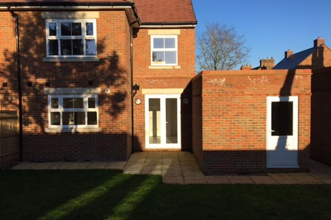 Thumbnail Semi-detached house for sale in Claremont Close, Winslow, Buckingham