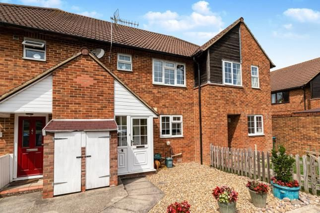 Thumbnail Terraced house for sale in William Bandy Close, Wing, Leighton Buzzard, Bedfordshire