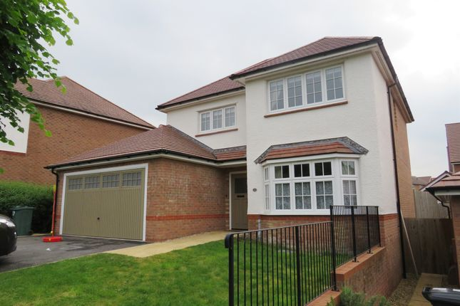 Thumbnail Detached house for sale in Primrose Drive, Newton Abbot