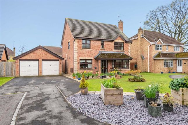 Thumbnail Detached house for sale in Candwr Park, Ponthir, Newport