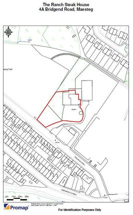 Land for sale in Bridgend Road, Maesteg