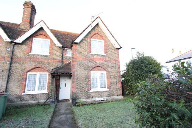Thumbnail End terrace house for sale in Plough Lane, Wallington