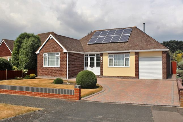 Thumbnail Detached bungalow for sale in The Thicket, Fareham