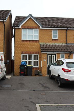 Thumbnail Semi-detached house to rent in Harris Court, Quakers Yard, X