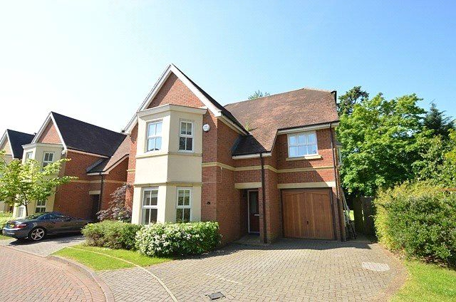 Thumbnail Detached house to rent in Pinehurst, London Road, Englefield Green, Surrey