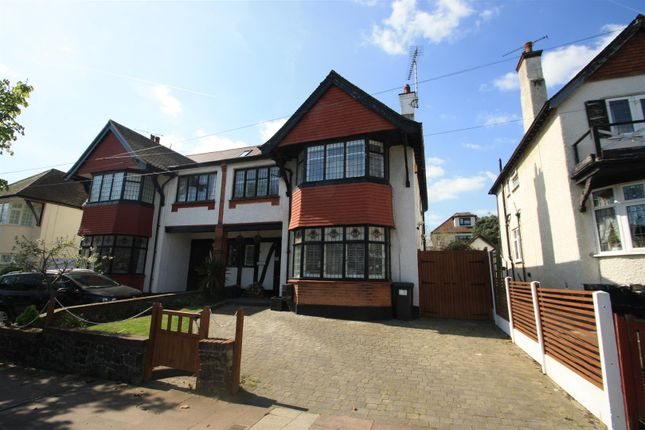 Thumbnail Semi-detached house for sale in The Crossways, Westcliff-On-Sea