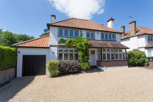 Thumbnail Detached house for sale in Queensmead Avenue, Ewell