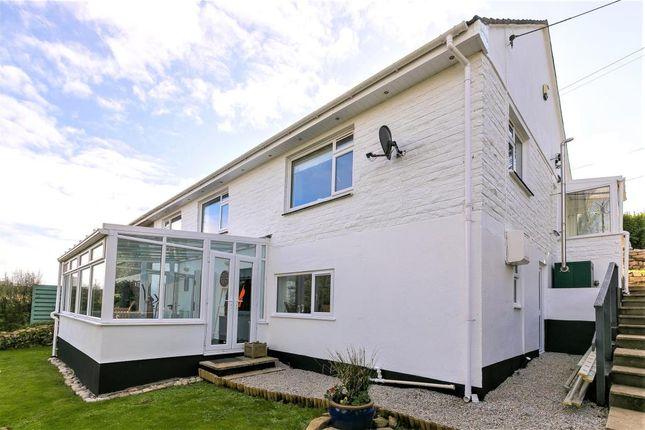 Thumbnail Semi-detached house for sale in Moorcroft, St. Buryan, Penzance, Cornwall