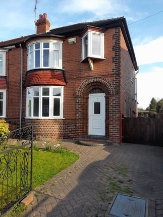 Thumbnail Semi-detached house for sale in Plunket Road, Doncaster