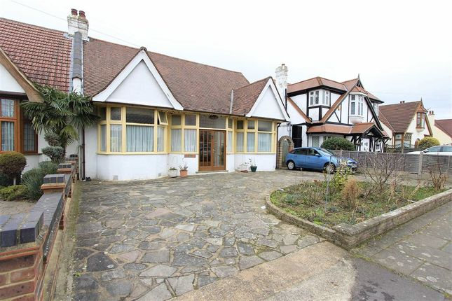 Thumbnail Semi-detached bungalow for sale in Parkway, Seven Kings, Essex