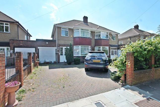 Thumbnail Semi-detached house to rent in Watery Lane, Yeading, Hayes