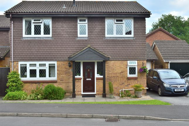 Thumbnail Detached house for sale in Walker Gardens, Hedge End
