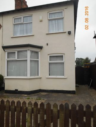 Thumbnail Semi-detached house to rent in Claremont Road, Darlington
