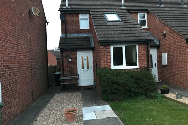 Thumbnail Terraced house to rent in Westbury Court, Droitwich
