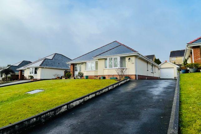 Detached bungalow for sale in Clos Erw Werdd, Cross Hands, Llanelli