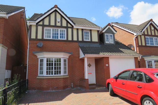 Thumbnail Detached house for sale in Wrenbury Drive, Bilston