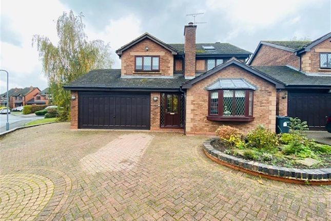Thumbnail Detached house to rent in Shrubbery Close, Sutton Coldfield