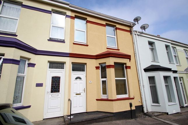 Thumbnail Terraced house to rent in Cotehele Avenue, Keyham, Plymouth, Devon