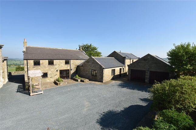 Thumbnail Detached house for sale in Sand House, Dacre Lane, Dacre, North Yorkshire