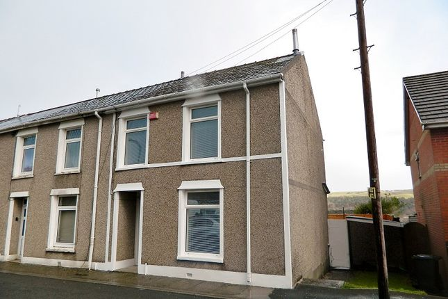 Thumbnail End terrace house to rent in Ael-Y-Bryn ., Earl Street, Tredegar, Blaenau Gwent.