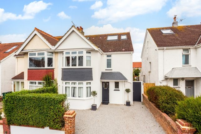 Thumbnail Semi-detached house to rent in Reynolds Road, Hove