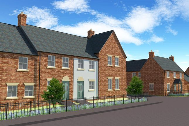 Thumbnail Town house for sale in Spring Cottage Road, Overseal, Swadlincote