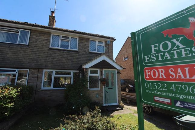 Semi-detached house for sale in Barfield, Sutton At Hone, Dartford