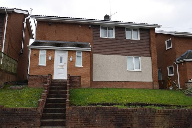 Thumbnail Detached house to rent in Vale View, Risca, Newport.