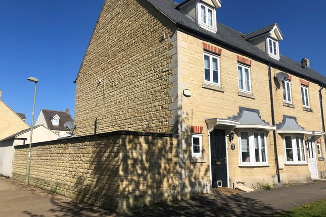 Thumbnail End terrace house for sale in Brome Way, Carterton