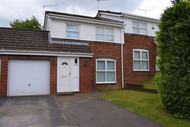Thumbnail Semi-detached house for sale in The Martins, Fair Oak, Eastleigh