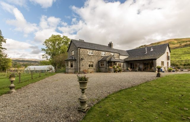 5 bed country house for sale in Anaheilt, Strontian, Highland