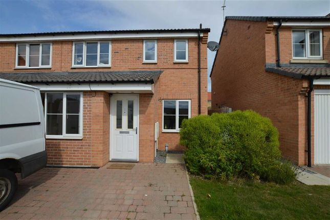 Thumbnail Semi-detached house to rent in Miskin Close, Hornsea, East Yorkshire