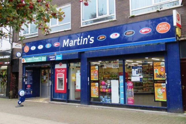 Thumbnail Retail premises for sale in Castle Street, Edgeley, Stockport