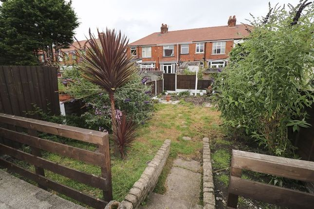 Rear Garden of Ailsa Avenue, Blackpool FY4