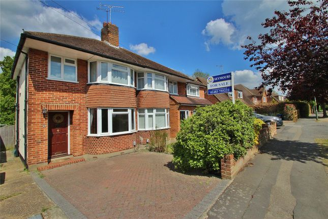 Thumbnail Semi-detached house for sale in Horsell, Surrey