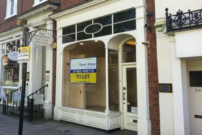 Thumbnail Retail premises to let in 210 High Street, Guildford