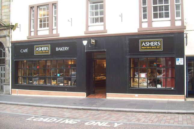 Thumbnail Retail premises to let in Ashers Bakery Ltd 46 Church Street, Inverness