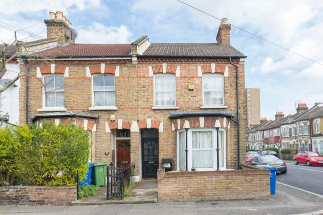 Thumbnail End terrace house to rent in Elcot Avenue, London