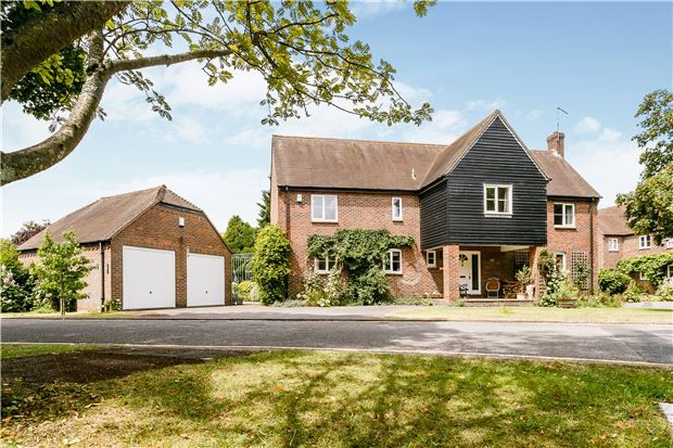 Thumbnail Detached house for sale in Mill Paddock, Abingdon, Oxfordshire