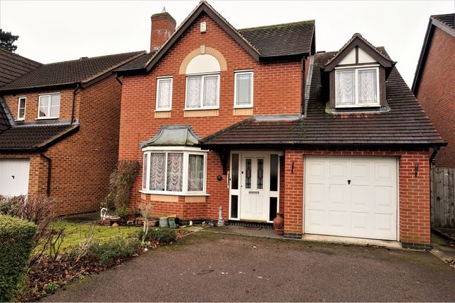 Thumbnail Detached house for sale in Allerton Drive, Leicester