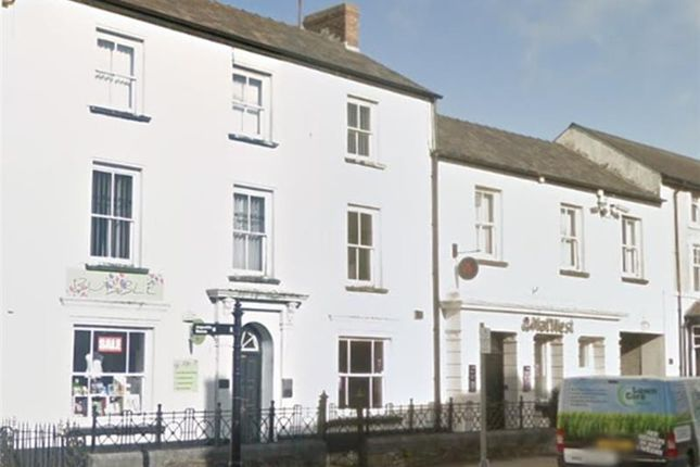 Thumbnail Commercial property for sale in 32 - 34, High Street, Narberth